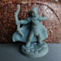 Elf łucznik wydrukowany na drukarce 3D