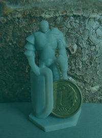 Figurka Rycerza z druku 3D