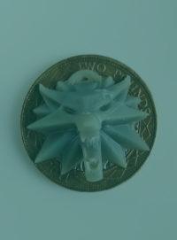 Amulet wiedźmina wydrukowany na drukarce 3D