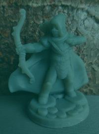 Elf łucznik z druku 3D